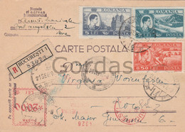 Romania - Bucuresti - 1947 - Stationery - Briefe U. Dokumente