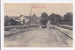 CP 21 SAULIEU Route De Paris (travaux Au  Rouleau Compresseur) - Saulieu