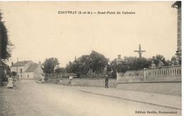 COUPVRAY   ROND POINT DU CALVAIRE - Andere Gemeenten