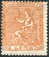 *131. 2 Cts Naranja De 1873, Nuevo - Nuevos