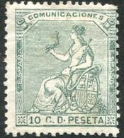 *133. 10 Cts Verde De 1873, Nuevo - Nuevos
