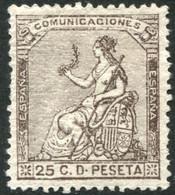 *135. 25 Cts Castaño De 1873, Nuevo - Nuevos