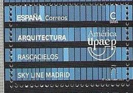 SPAIN, 2020,  MNH, UPAEP, ARCHITECTURE, MADRID SKYLINE,1v - Autres