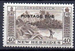 Nouvelles Hebrides : Yvert N° Taxe 44**; MNH - Unclassified
