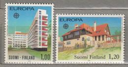 EUROPA 1978 Finland Architecture Mi 825-826, Yv 788-789, Sc 608-609 MNH (**) # 20709 - Nuevos