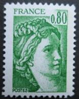 FRANCE Sabine De Gandon N°1970b Gomme Tropicale Neuf ** - 1977-81 Sabine Van Gandon