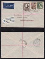 Australia 1955 Registered Airmail Cover SYDNEY To SOLEURE Switzerland - Briefe U. Dokumente