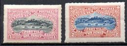 Nouvelles Hebrides : Poste Locale 2 Valeurs - Unused Stamps