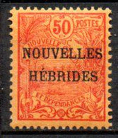 Nouvelles Hebrides : Yvert N°4* - Unused Stamps