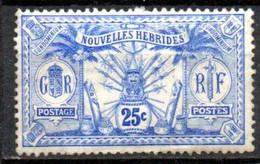 Nouvelles Hebrides : Yvert N°30* - Unused Stamps