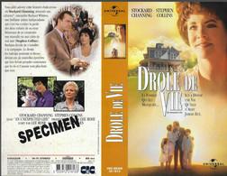 """""""DROLE DE VIE"""" -jaquette SPECIMEN Originale CIC VIDEO -an Unexpected Life - History"""