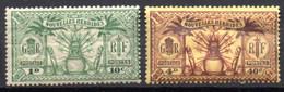 Nouvelles Hebrides : Yvert N°81 Et 85* - Unused Stamps