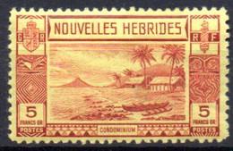 Nouvelles Hebrides : Yvert N°110* - Unused Stamps