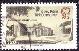TürkischZypern Turkish Cyprus Turque De Chypre - Atatürk-Kulturzentrum, Nikosia (MiNr: 149) 1984 - Gest Used Obl - Usati