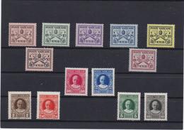 Vatican 1929 Cat Yvert °N° 26/38 ** - Unused Stamps