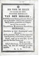 Van Den Berghe J.h. ( Merksem 1766 -1833) - Religion & Esotericism