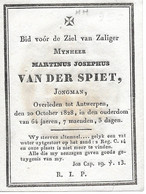 Van Der Spiet M.j. (antwerpen 1764 -1828) - Religion & Esotericism