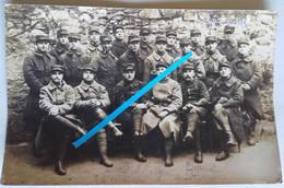 1915 Cholet 77 Eme Régiment D'infanterie Fantassin Formation Poilu Tranchée Ww1 14-18 Photo - Guerra, Militares