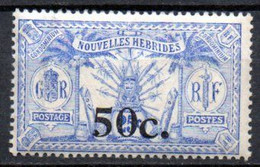 Nouvelles Hebrides : Yvert N°76**; MNH - Unused Stamps