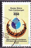 TürkischZypern Turkish Cyprus Turque De Chypre - Konferenz Der Islamischen Staaten (MiNr: 212) 1987 - Gest Used Obl - Usati