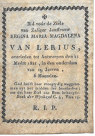 Van Lerius R.m.m.  (antwerpen 1802 -1821) - Religion & Esotericism