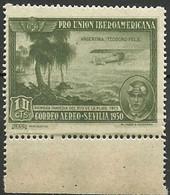 ESPAÑA 1930 Mi:ES 555,  Yt:ES PA76,  Edi:ES 584 ** MNH ARGENTINA Teodoro Fels. Vc 6 Euros - Nuevos