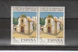 España. Bloque De 2 Sellos Nuevos. Edifil  N ° 2478. 1978. V Centenario De La Fundacion De Las Palmas De Gran Canaria. - 1971-80 Nuevos & Fijasellos