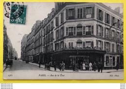 CPA - PARIS 16 - Rue De La Tour - Boucherie, Crémerie De La Mairie - Distrito: 16
