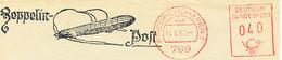 Freistempel 9339 Postfreistempel Aufgedrucker Zeppelin - Affrancature Meccaniche Rosse (EMA)