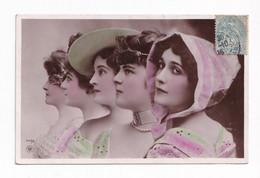 CPA LINA CAVALIERI OPERA ITALIA ORANOTYPIE NPG PHOTOMONTAGE REUTLINGER 1905 - Opera