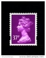 GREAT BRITAIN - 1996  MACHIN  37p. 2B  MINT NH  SG Y1703 - Série 'Machin'