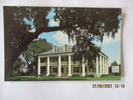 HISTORIC HOUMAS HOUSE 1800-1840 LOCATED ON THE GREAT RIVER ROAD AT BURNSIDE,LOUISIANA COLOR PHOTO BY GRANT L. ROBERTSON - Other