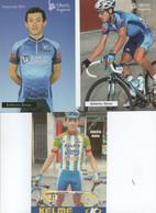 CYCLISME  3 CARTES   ROBERTO HERAS - Cycling