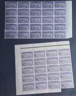#C115-17-18 - 1909-32 SPM Séries Locales - DESTOCKAGE , Blocs YT88  Nuances Couleurs, Panneaux, Feuilles - Voir Détails - Neufs