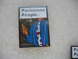 Pins Cigarettes Parisienne People, Marque Fait Parfois Appel à Des Réalisateurs Célèbres Pour Réaliser Ses Spots Publici - Non Classificati