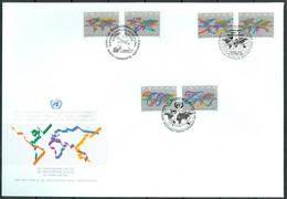 UN 1994 T017 - Development Trough Partnership - UNCTAD - Triple FDC - Emisiones Comunes New York/Ginebra/Vienna