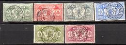 Nouvelles Hebrides : Yvert N° 49/54 - Used Stamps