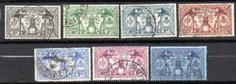 Nouvelles Hebrides : Yvert N° 91/99; 7 Valeurs - Used Stamps