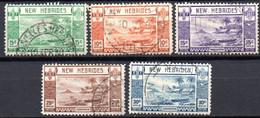 Nouvelles Hebrides : Yvert N° 112/117; 7 Valeurs - Used Stamps