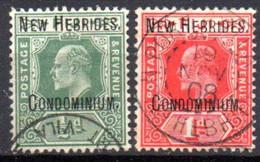 Nouvelles Hebrides : Yvert N° 12/13 - Unclassified