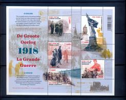 BL268 Postgaaf MNH ** Prachtig  De Grote Oorlog - Blocks & Kleinbögen 1962-....