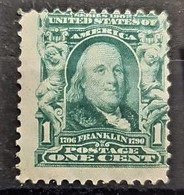 USA 1902/03 - MLH - Sc# 300 - 1c - Ungebraucht