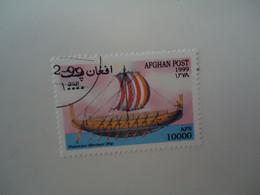 AFGHANISTAN  USED    STAMPS  SHIPS - Afganistán