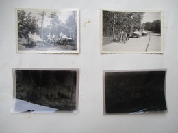 Lot Van 4 Stuks  --2originele Foto's --2 Originele Negatieven -  Knokke - Zoute  Rond 1935--40  Rijden Met  ZEEPKISTEN - Objets