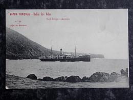 PORTUGAL - VAPOR Funchal - SHIP Transportation - BAIA DAS VELAS - Açores - Açores