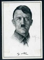 Ostmark/DR.; AK - Adolf Hitler; Sonderstempel Wien 1938 - Guerra 1939-45