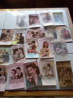 LOT DE  220 CARTES FANTAISIE - 100 - 499 Postkaarten