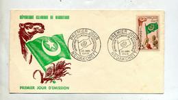 Lettre  Fdc 1960 Republique - Mauritania (1960-...)