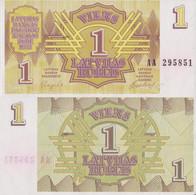 Latvia / 1 Rubli / 1992 / P-35(a) / UNC - Latvia