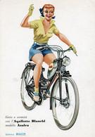 AQUILOTTO BIANCHI - MODELLO AZALEA - GOMME PIRELLI - NON VIAGGIATA - Werbepostkarten
